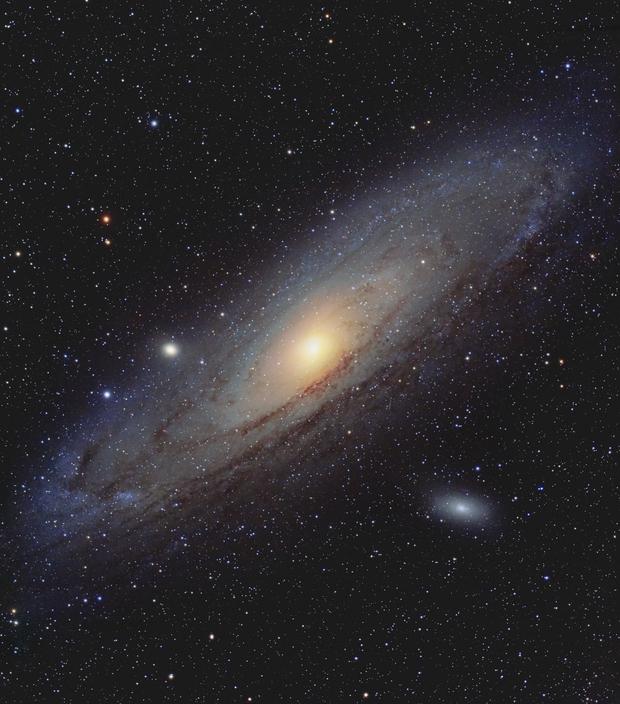 La galaxie d'Androméde M31