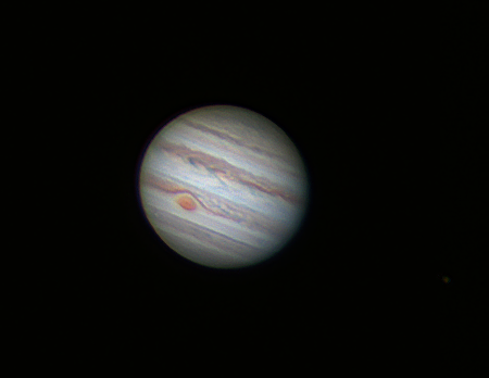 Jupiter le 12 mai 2015