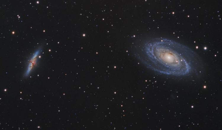 Les Galaxies M81 et M82