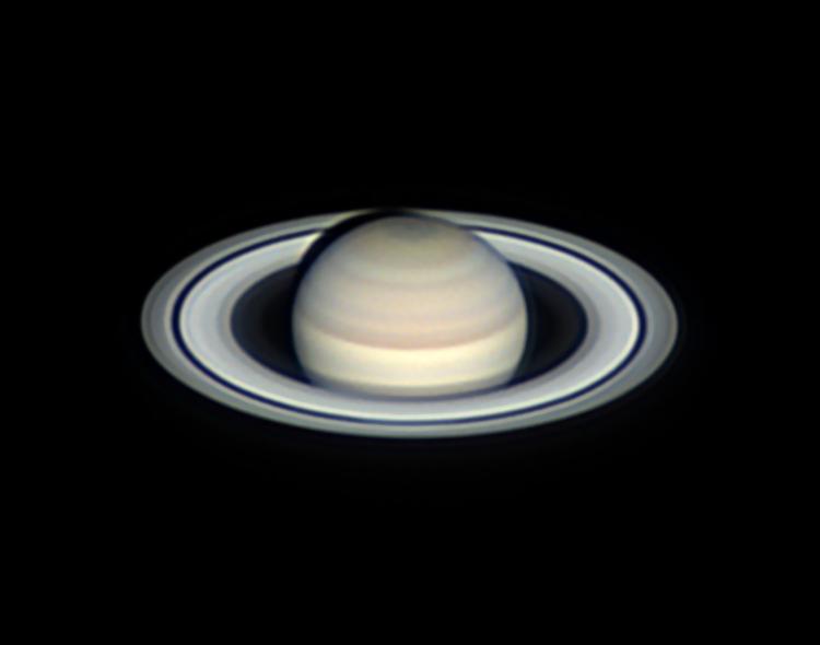 La planète Saturne le 4 septembre 2019