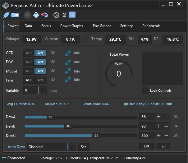 UPBv2 interface