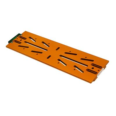 Queue d'aronde mâle avec rail Geoptik type Losmandy 34cm (orange)