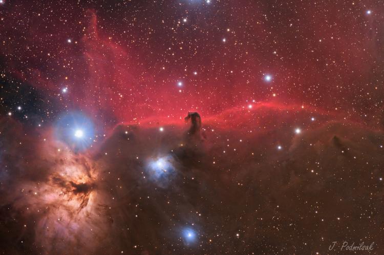 La Nébuleuse de la Tête de Cheval IC434