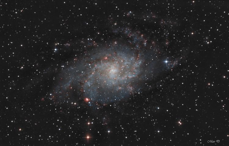 La galaxie du Triangle M33