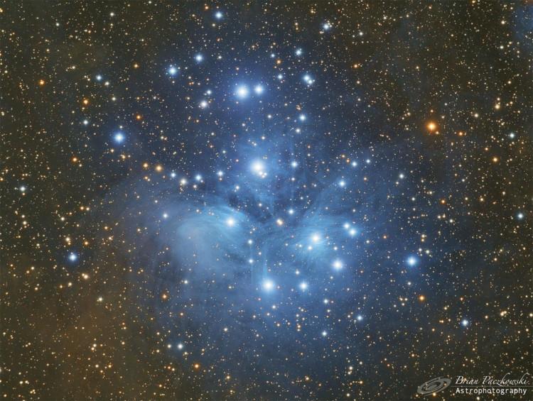 L'Amas des Pléiades M45