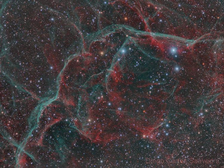La Nébuleuse des Voiles (SNR G263.9-03.3)