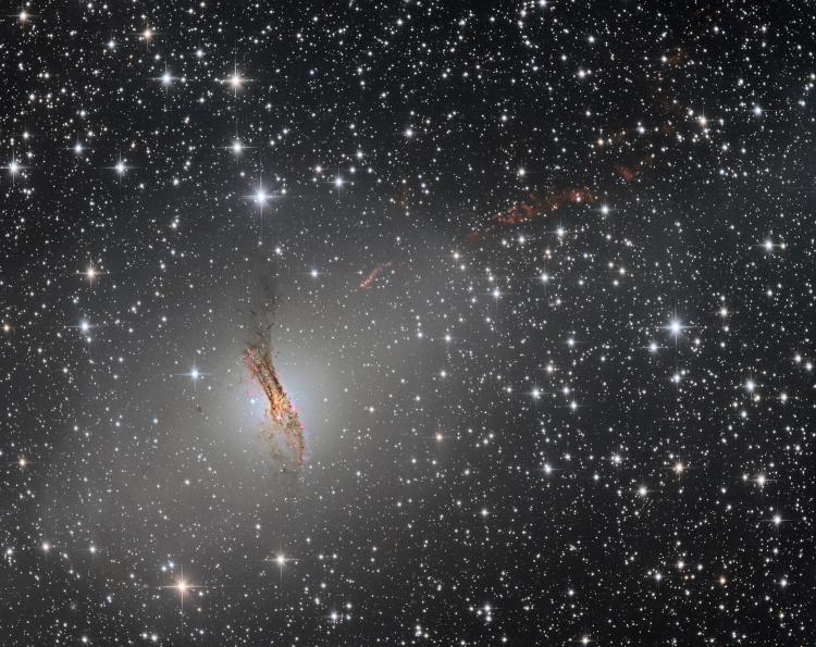 La Galaxie Centaurus A NGC5128