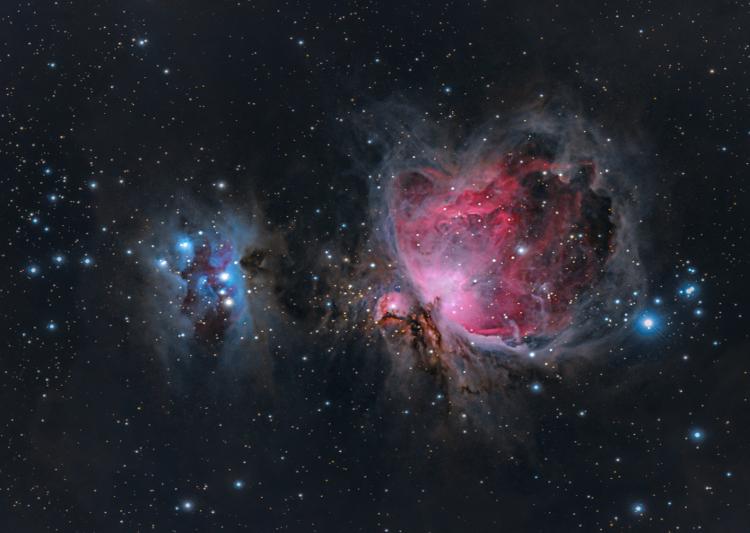 La Nébuleuse d'Orion M42