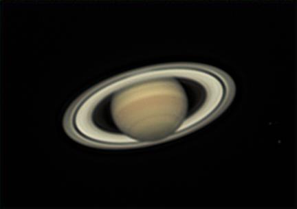 Saturne le 3 juin 2016