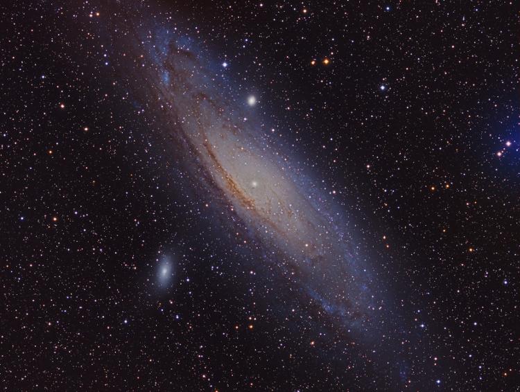 La Galaxie d'Andromède M31