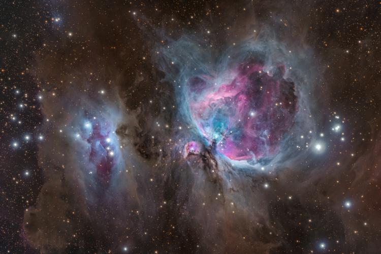 Les Nébuleuses d'Orion