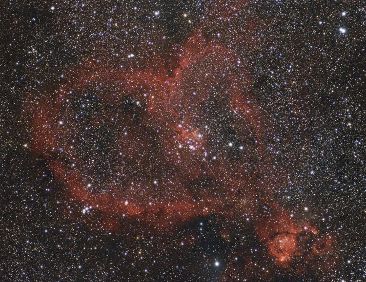 La Nébuleuse du Coeur IC1805