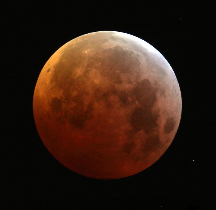 L'éclipse lunaire du 21 janvier 2019