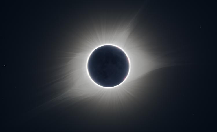 L'éclipse 27 août 2017 aux USA