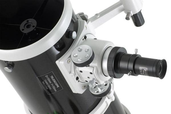 Mise au point Crayford sans microfocuser du télescope Sky-Watcher 150/750 sur monture équatoriale EQ3-2